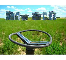 CarHenge Photographic Print