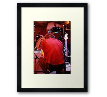 The Cajun Dance Party Framed Print