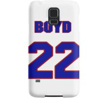 National Hockey player Boyd Kane jersey 22 Samsung Galaxy Case/Skin