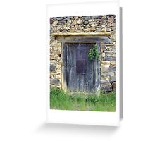 Somebody´s home? Greeting Card