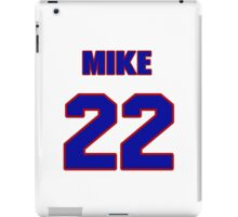 National Hockey player Mike Wong jersey 22 iPad Case/Skin