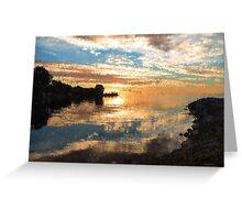 Brilliant Sunrise Impression Greeting Card
