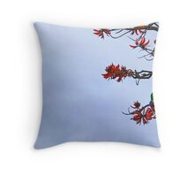 Parakeet's Paradise Throw Pillow