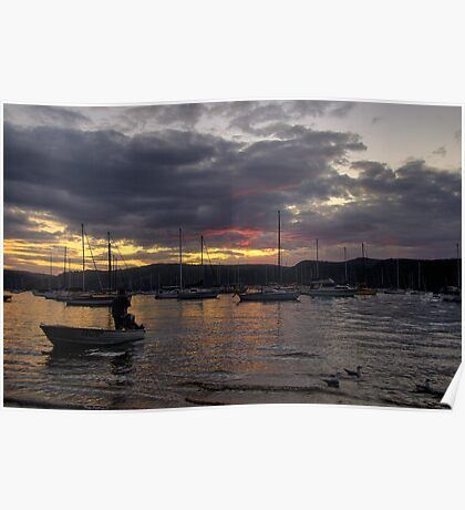 Days End - Clareville - Sydney Beaches - THe HDR Series Poster