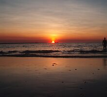 Mindel Beach Sunset by chimera9885