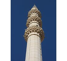 A minaret Photographic Print