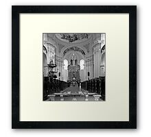 Virgin Mary Visitation Church, Hejnice, Czech Republic Framed Print