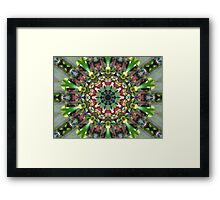 Neon Light Framed Print