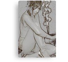 lingerie art Canvas Print