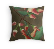 Eucalypts of the South West Throw Pillow