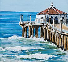 Manhattan Beach Pier by Karen Yee