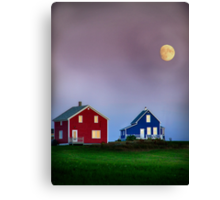 End of day in colors Canvas Print
