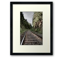 Going in the Right Direction Framed Print