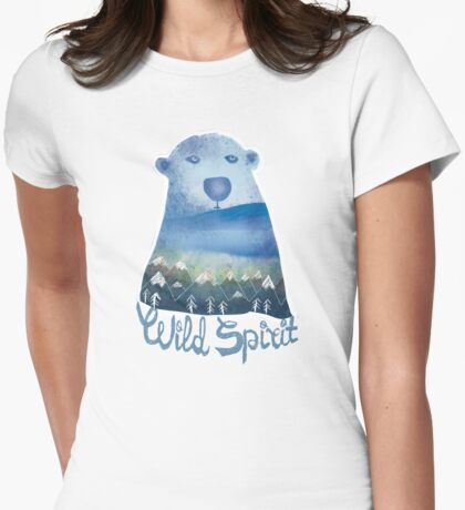 Wild Spirit Womens Fitted T-Shirt