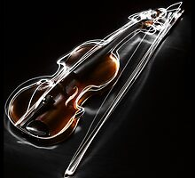 Violin in the Night by panophobia
