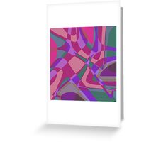 1240 Abstract Thought Greeting Card