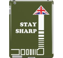 Stay Sharp iPad Case/Skin