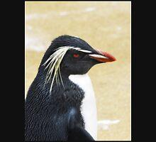 Rockhopper penguin  Womens Fitted T-Shirt