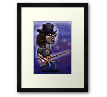 Rock Star Framed Print