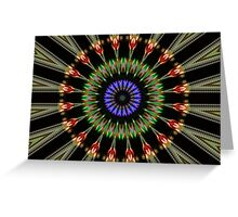 Wave Reflection Greeting Card