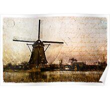 Kinderdijk - Forgotten Postcard 2 Poster
