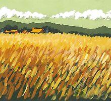 Fall Field by Robin (Rob) Pelton