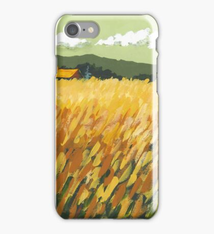 Fall Field iPhone Case/Skin