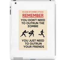 Zombie Outrun iPad Case/Skin