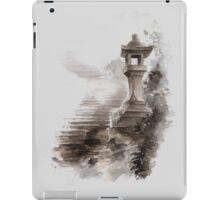 Japanese lantern ink painting, mens gift idea, japan landscape painting iPad Case/Skin