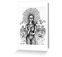 'Mother Earth'  Greeting Card