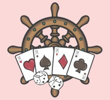 Poker in navy Kids Clothes
