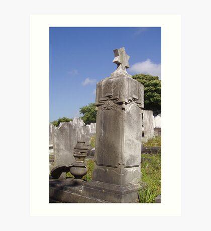 Jewish Cemetery Art Print