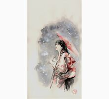 Geisha sign room decoration, japanese woman wall print, geisha figurine large poster Unisex T-Shirt