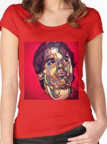 DEXTER Women's Fitted Scoop T-Shirt