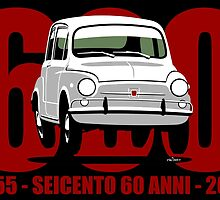 Fiat 600 60 years by car2oonz