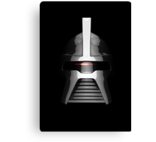 By Your Command - Classic Cylon Centurion Canvas Print