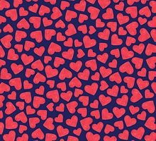 RED HEARTS by kindofstyle