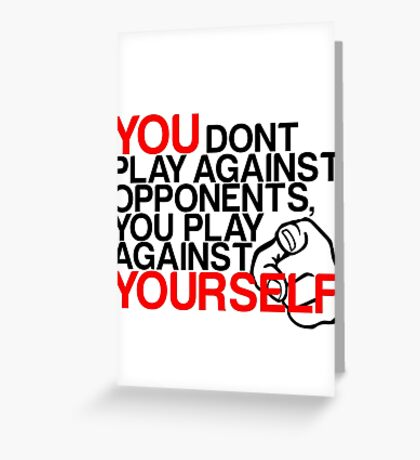 Gamer Quote Greeting Card