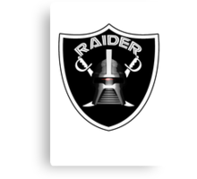 Cylon Raider Logo Canvas Print