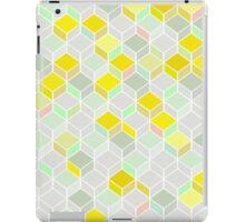 CUBE YELLOW iPad Case/Skin