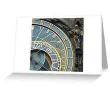 Time and Death Greeting Card