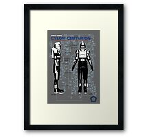 Owners Manual Cylon Centurion Framed Print