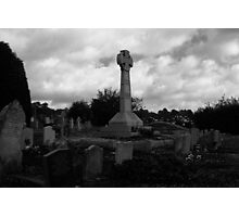 All Saints Church Footscray Memorial Black and White Photographic Print