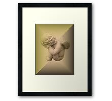Weeping Cherub ~ Angel Framed Print