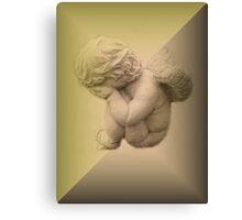 Weeping Cherub ~ Angel Canvas Print
