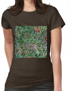 Grassy Earth Womens Fitted T-Shirt