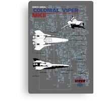 Owners Manual - Colonial Viper MKII Canvas Print