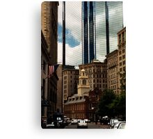 Old Statehouse - Boston Canvas Print