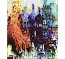 Moscow in the Rain Photographic Print