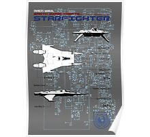 Owners Manual - Earth Directorate Starfighter Poster